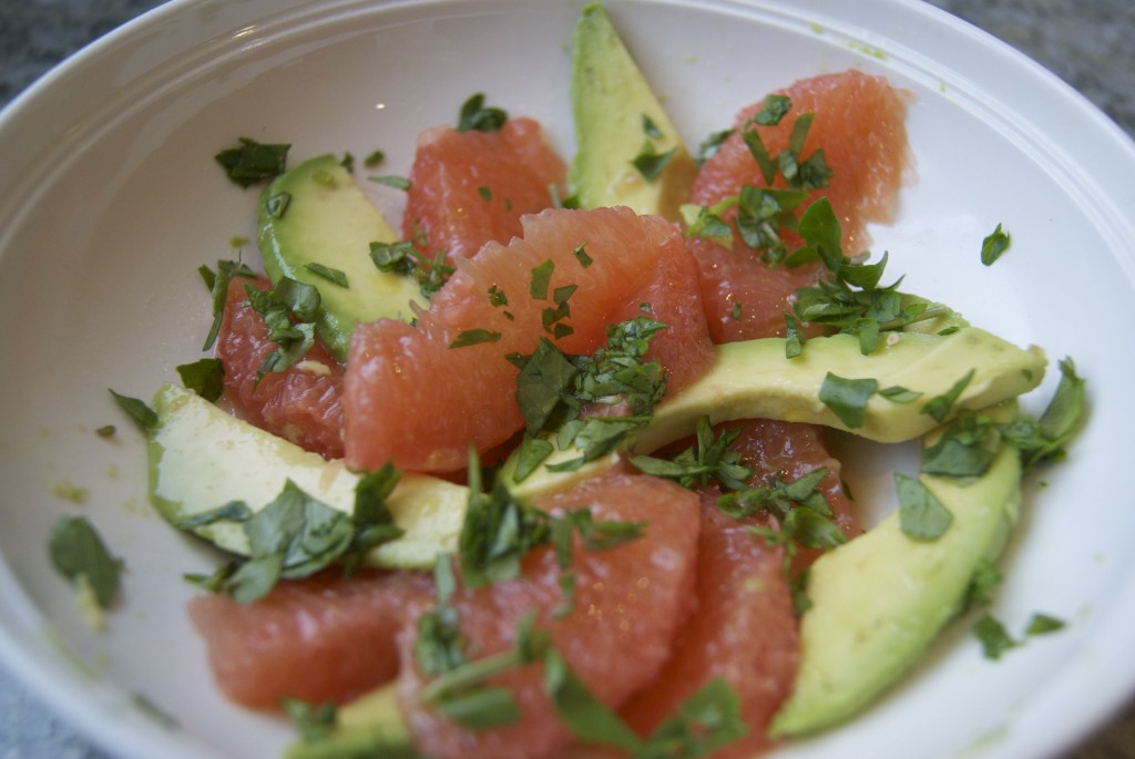 Grapefruit And Watercress Salad Recipe — Dishmaps