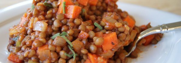 """Good Luck"" Italian-Style Lentils"