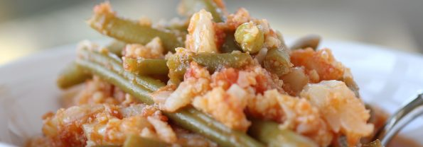 One-Pot Italian &#8220;Potatoes&#8221; &#038; Green Beans