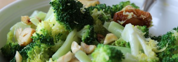 The Irresistible Veggie Formula: Broccoli with Toasted Garlic, Hazelnuts, and Lemon