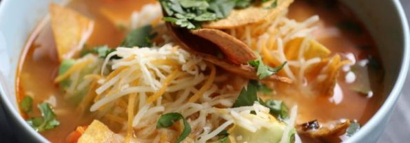 Cinco De Mayo Tortilla Soup Recipe