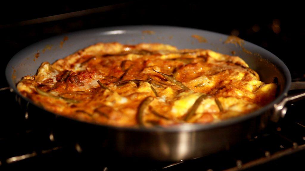 Frittata in Oven