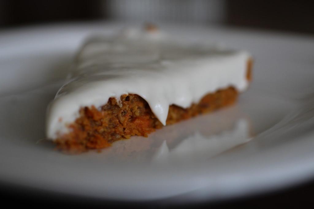 Vegan Carrot Cake Cashew Cream Frosing