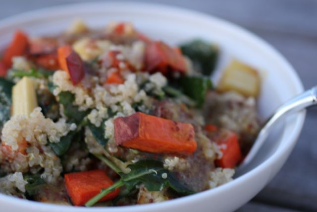 Quinoa Root Vegetable Salad