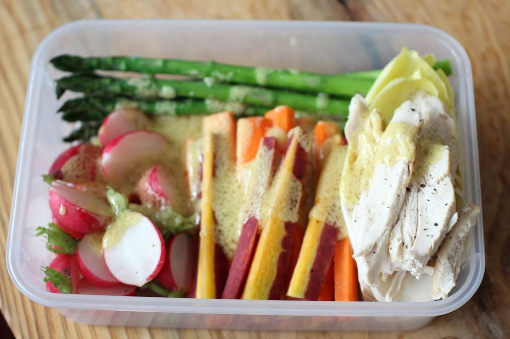 Lunch Crudite with Dressing