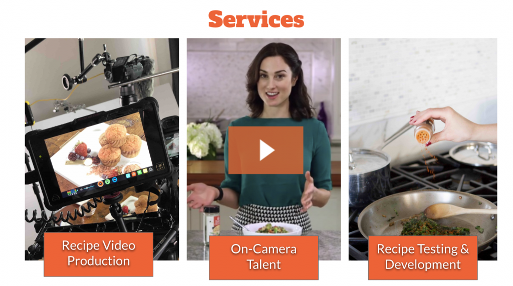 recipe production services