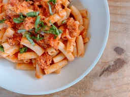 Vegan Vodka Sauce with Cashew Cream